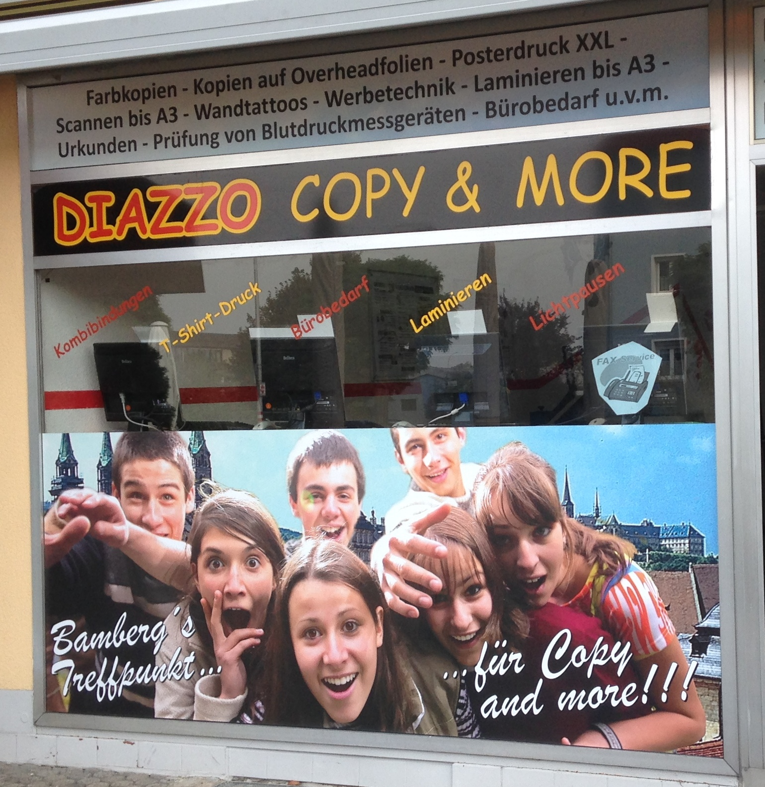 Copy-Shop Troppauplatz